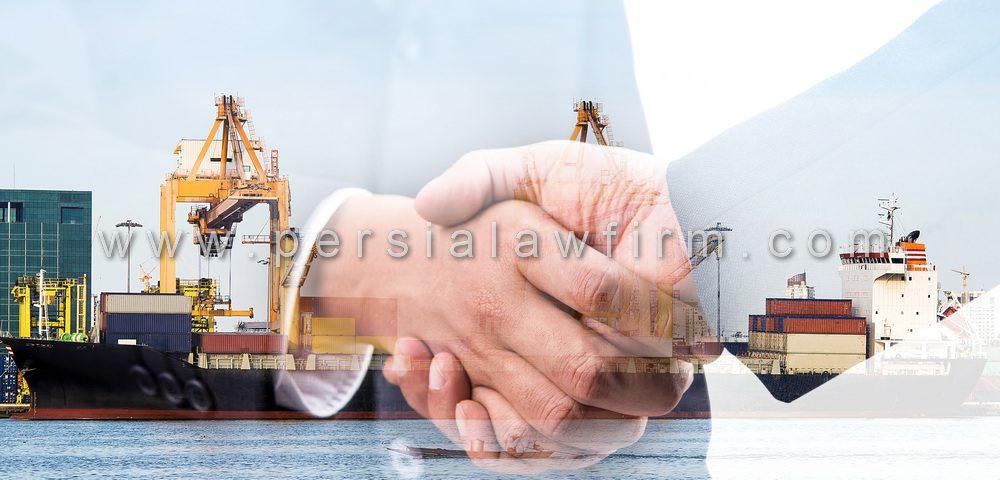 تنظیم قرارداد های خرید و فروش یا اجاره کشتی